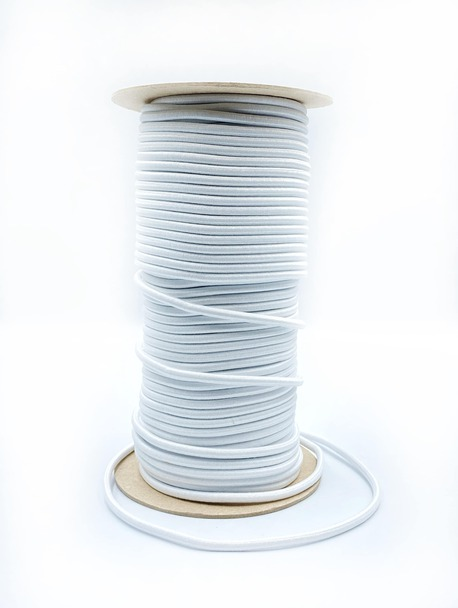Guma okrągła biała 4mm (1)