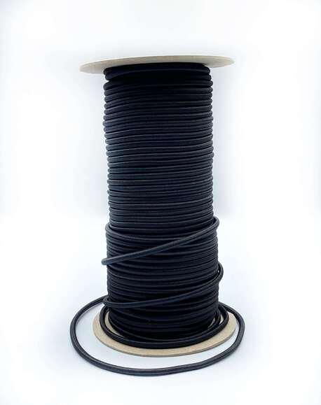 Guma okrągła czarna 4mm (1)