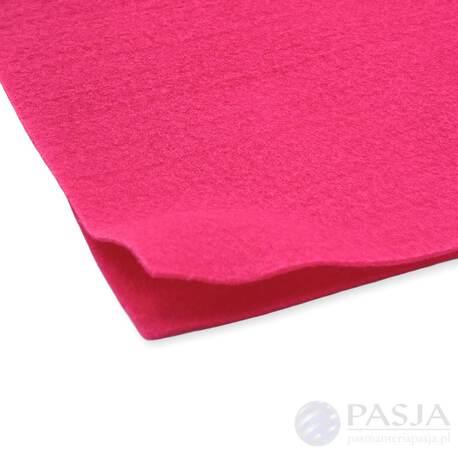 Filc dekoracyjny w kolorze różowym - dostępny w dwóch rozmiarach