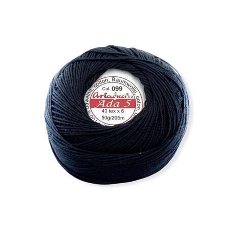 Kordonek Ariadna Ada 5 w czarnym kolorze
