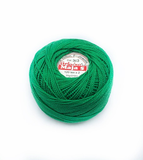 Kordonek Maja Ariadna 5 zielony 363 (1)