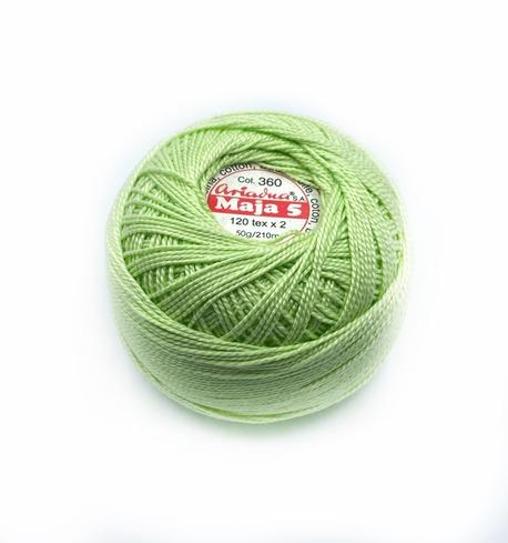 Kordonek Maja Ariadna 5 jasny zielony 360 (1)