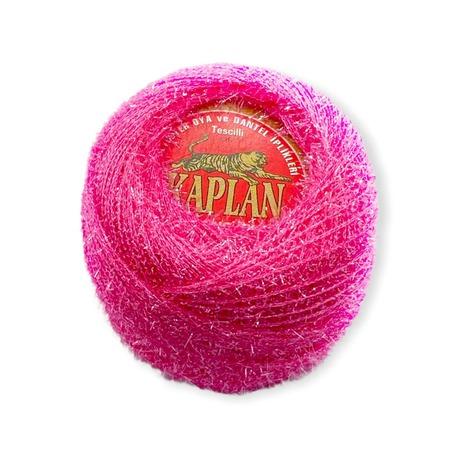 Kordonek metalizowany Kaplan w kolorze różowym