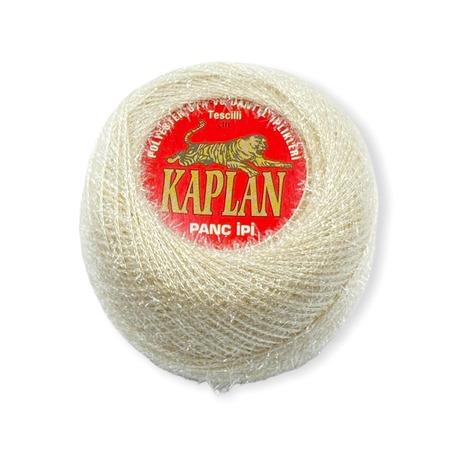 Kordonek metalizowany Kaplan w kolorze jasno-beżowym