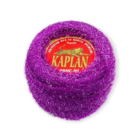 Fioletowy kordonek metalizowany Kaplan o wadze 20g