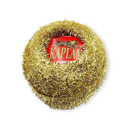 Kordonek Kaplan metalizowany w odcieniu złotym