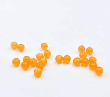 Koraliki plastikowe pomarańczowe 8mm (1)