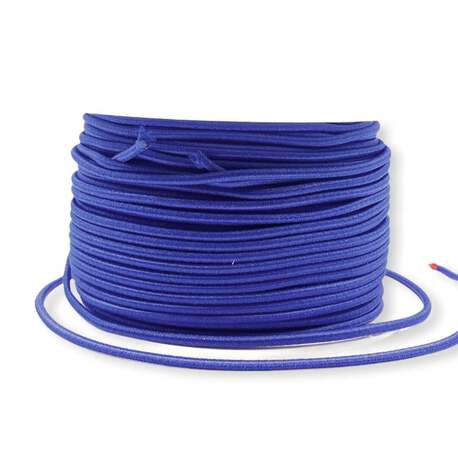 Okrągła gumka elastyczna w kolorze chabrowym 2,5mm