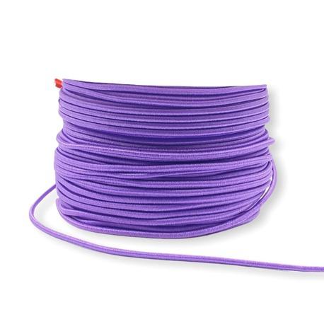 Guma pasmanteryjna okrągła kolor fioletowy