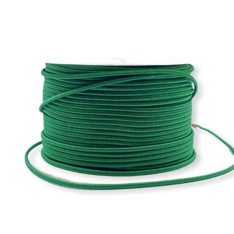 Guma kapeluszowa w kolorze zielonym 2,5mm