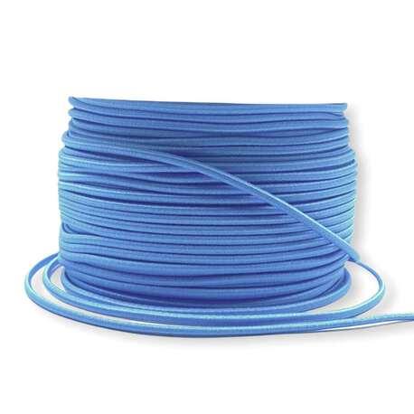 Guma okrągła kapeluszowa niebieska