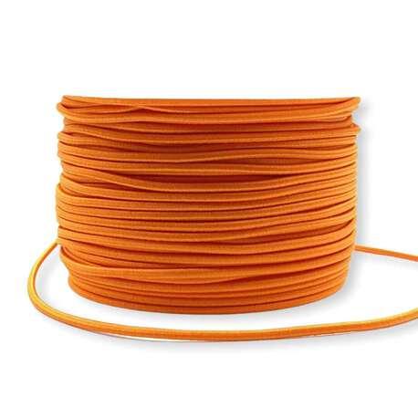 Guma okrągła elastyczna pomarańczowa 2,5mm