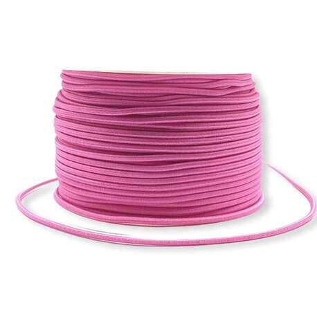 Różowa guma okrągła 2,5mm
