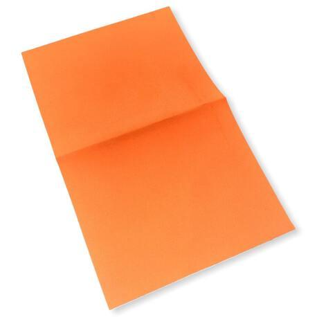Łata odblaskowa do przylepienia w kolorze pomarańczowym