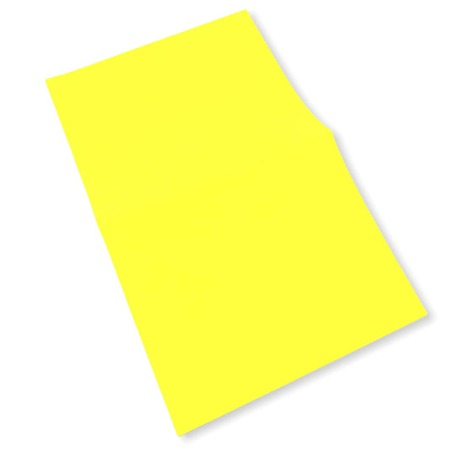 Łata samoprzylepna z odblaskiem w kolorze żółtym