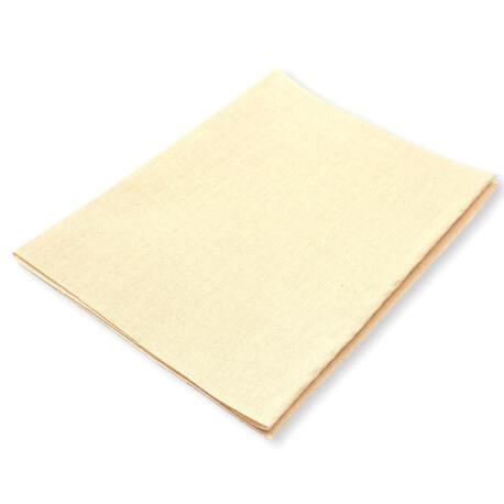 Bawełniana łata termoprzylepna kolor jasny beżowy