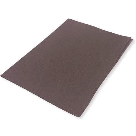 Duża łata termoprzylepna z bawełny kolor brązowy