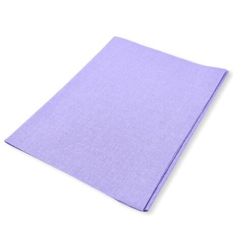 Duża łata bawełniana w kolorze liliowym