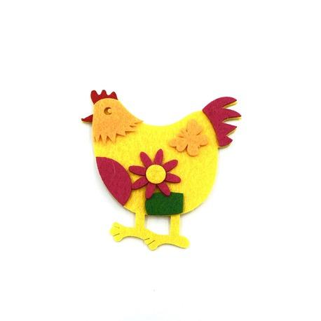 Aplikacja kura wiosenna termoprzylepna