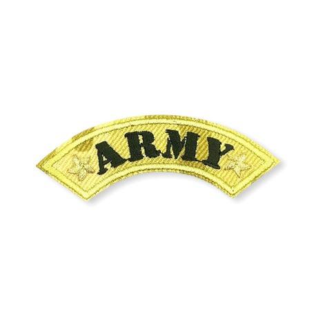 Aplikacja termo militarna army do przyprasowania na kurtkę