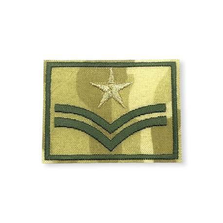 Aplikacja wojskowo-militarna do przyprasowania do ubrania