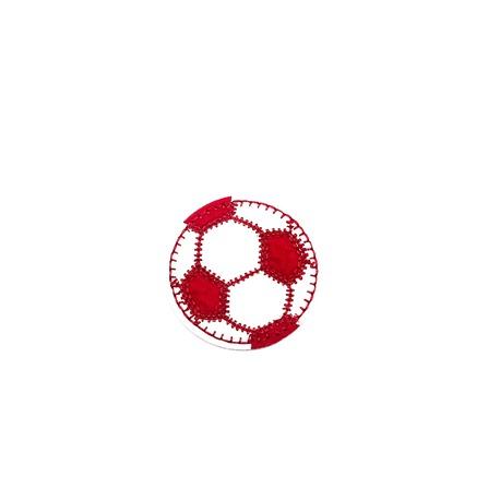 Aplikacja sportowa piłka czerwona dla chłopca do naprasowania