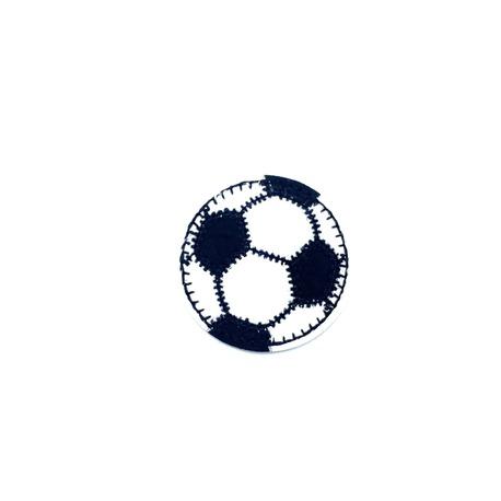 Naszywka sportowa piłka czarna termo