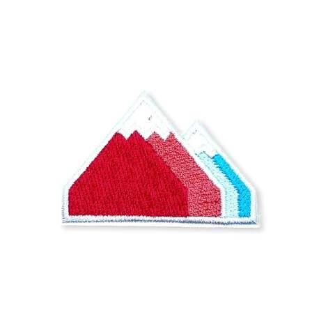 Aplikacja ozdobna termoprzylepna na ubranie we wzór góry