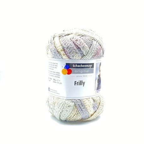Frilly włóczka w pastelowe kolory na szal