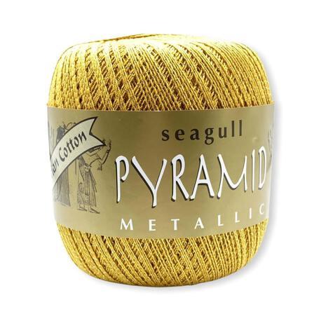 Kordonek metalizowany Pyramid na serwetki i eleganckie obrusy, które możesz wyszedyłkować.