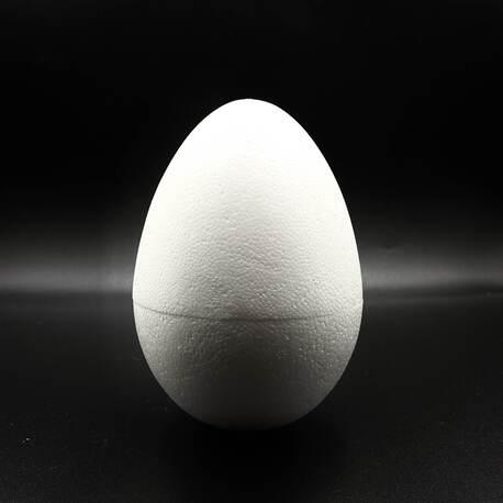 Jajko styropianowe do malowania, dekorowania i innych kreatywnych pomysłów. Półprodukt dekoracyjny na wiosnę i wielkanoc.