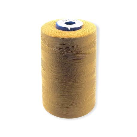 Nici overlockove Viga 120 marki Ariadna. Doskonałe nici odzieżowe do szycia w kolorze jasno-brązowym.