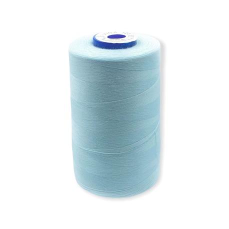 Nici overlockowe Viga 120 marki Ariadna. Doskonałe nici odzieżowe do szycia w kolorze błękitnym.