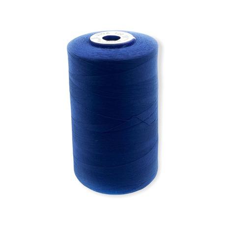 Nici overlockove Viga 120 marki Ariadna. Doskonałe nici odzieżowe do szycia w kolorze ciemnym- niebieskim.