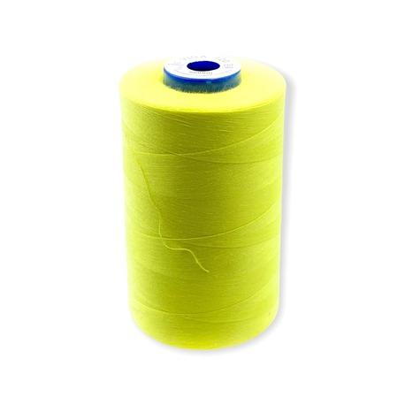 Nici Viga 120 do maszyny overlockowej. Bardzo dobra szwalność i wytrzymałość nici na nawoju 5000m. Kolor szpuli - żółto-zielony.