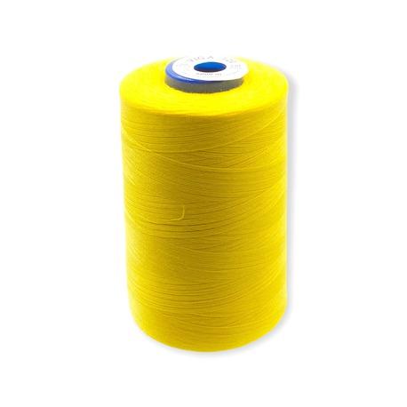 Nici Viga 120 do maszyny overlockowej. Bardzo dobra szwalność i wytrzymałość nici na nawoju 5000m. Kolor szpuli - żółty.