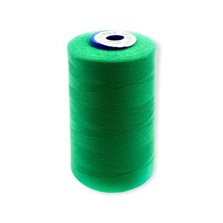 Nici Viga 120 do maszyny overlockowej. Bardzo dobra szwalność i wytrzymałość nici na nawoju 5000m. Kolor szpuli - zielony.