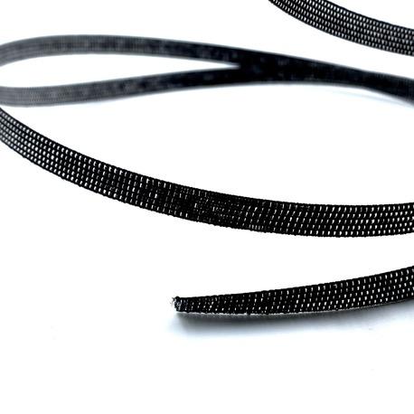 Taśma fiszbinowa czarna 8mm do wszywania w sukienki czy gorsety.