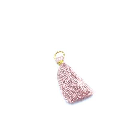 Chwost ozdobny w kolorze jasno-różowym o długości 35mm.