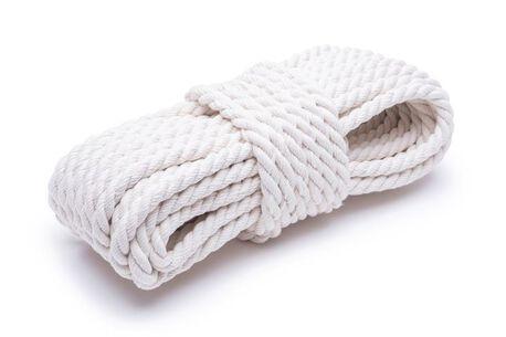 Lina bawełniana naturalna o grubości 10mm - do wyrobów ogrodniczych i na rękodzieło.