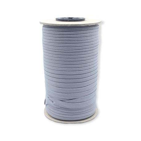 Guma pleciona, obszywkowa w kolorze popielatym , wykorzystywana często w bieliźnie.