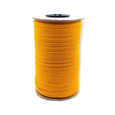 Guma bieliźniana jasna pomarańczowa o szerokości 7mm