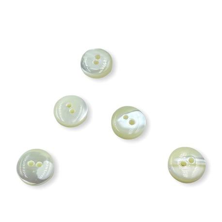Guzik perłowy ecru o średnicy 10mm