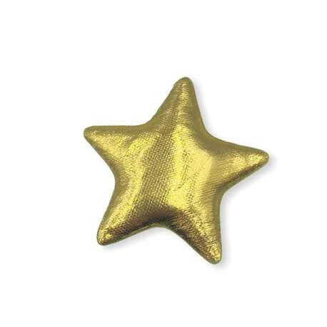 Naszywka świąteczna złota gwiazdka