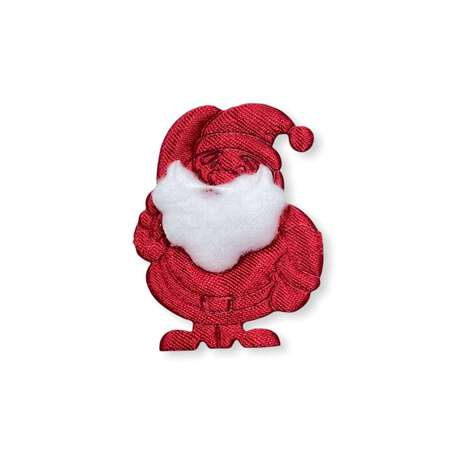 Aplikacja świąteczna czerwony mikołaj